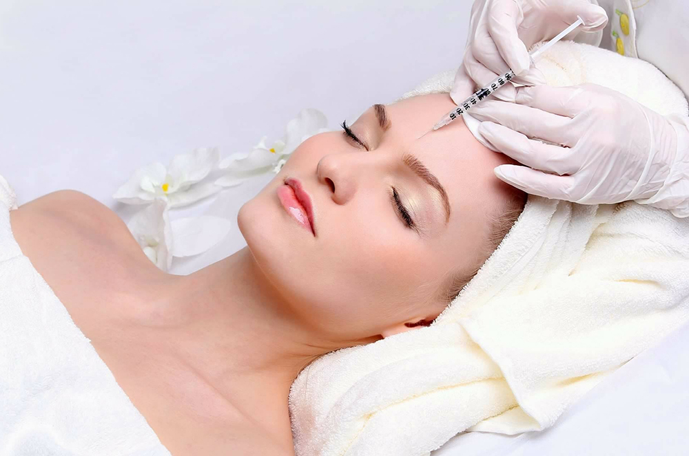 mesotherapy injection to remove dull skin