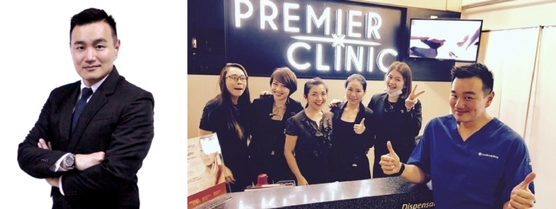 Doctor Nigel Ong and Premier Clinic Team