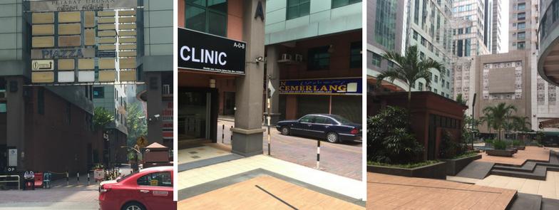 Premier Clinic KL City Location Exterior