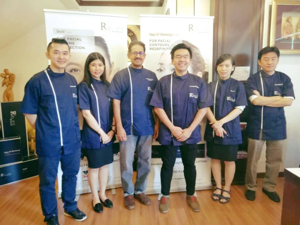 Dr Kee Yong Seng was invited by RELIFE Menarini Group to participate in Happy Lift ( Revitalizing) threads.
