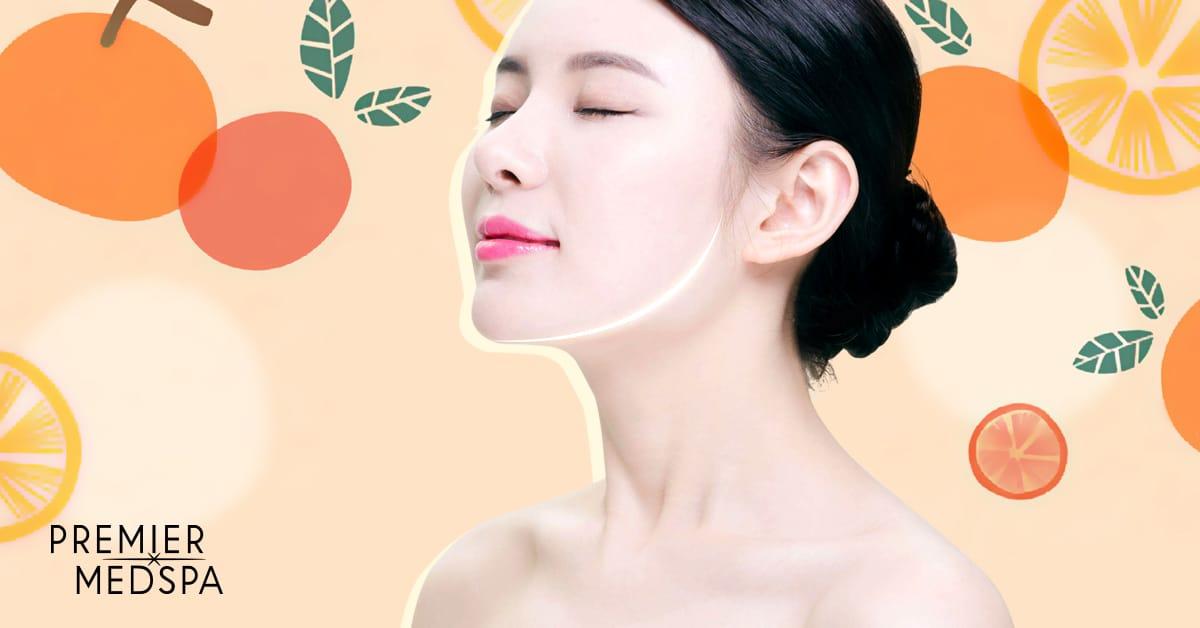 MedSpa Fruit Facial Promo Ad no text