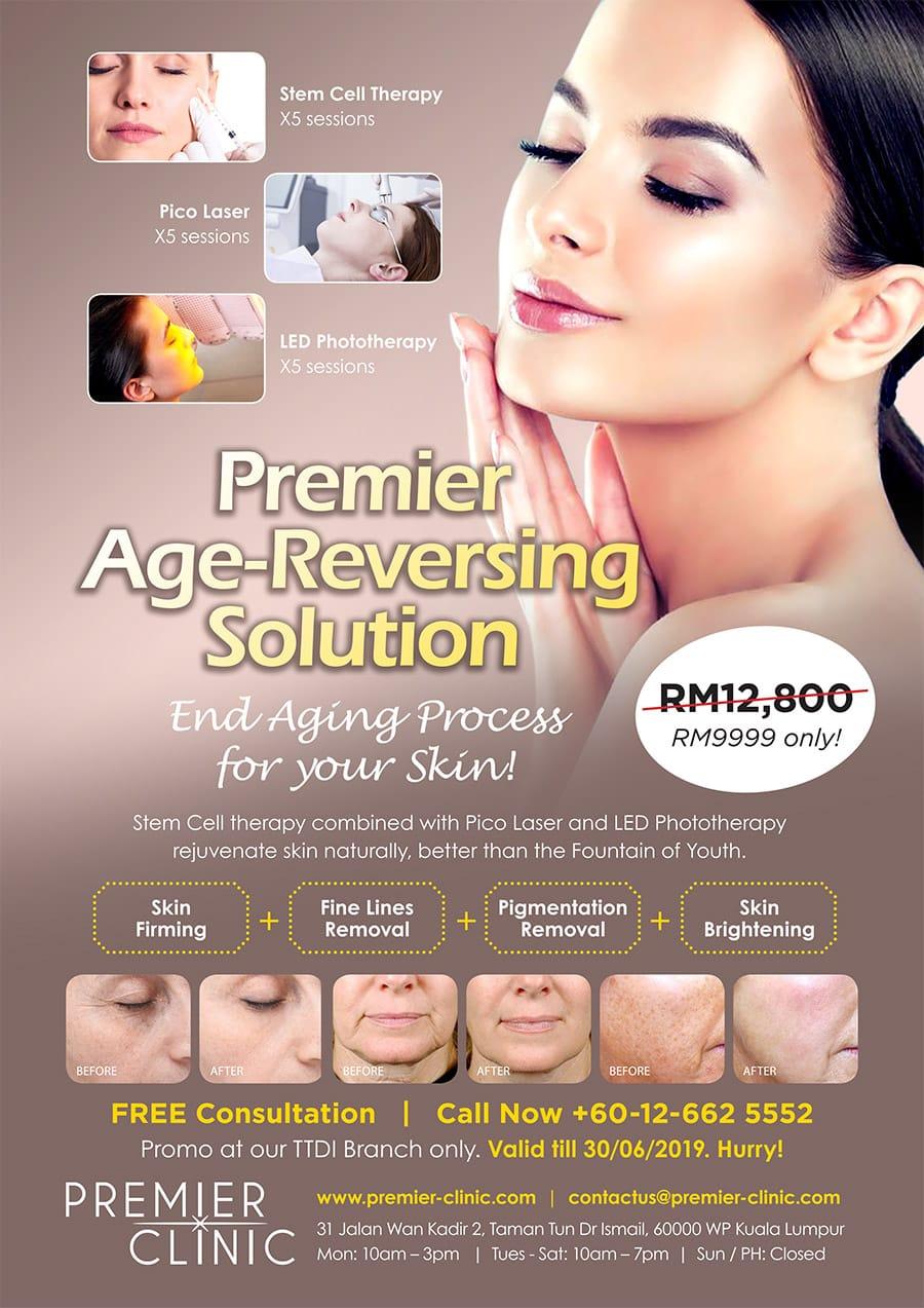 Premier Clinic TTDI Age Reversing Promo