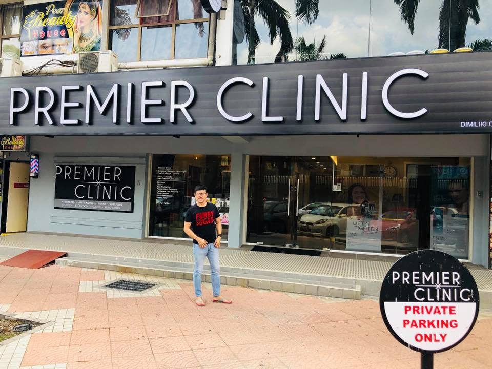Budiey Isma Visited Premier Clinic