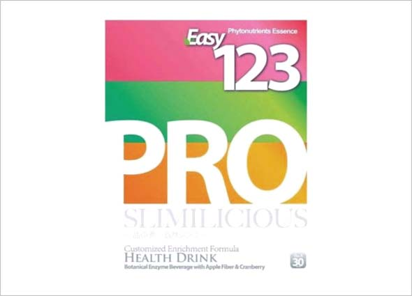 Easy 123 Pro Detox: Healthy Nutrition Diet Drink