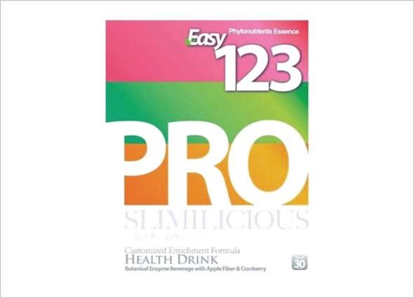 Easy 123 Pro Detox: Healthy Nutrition Diet Drink