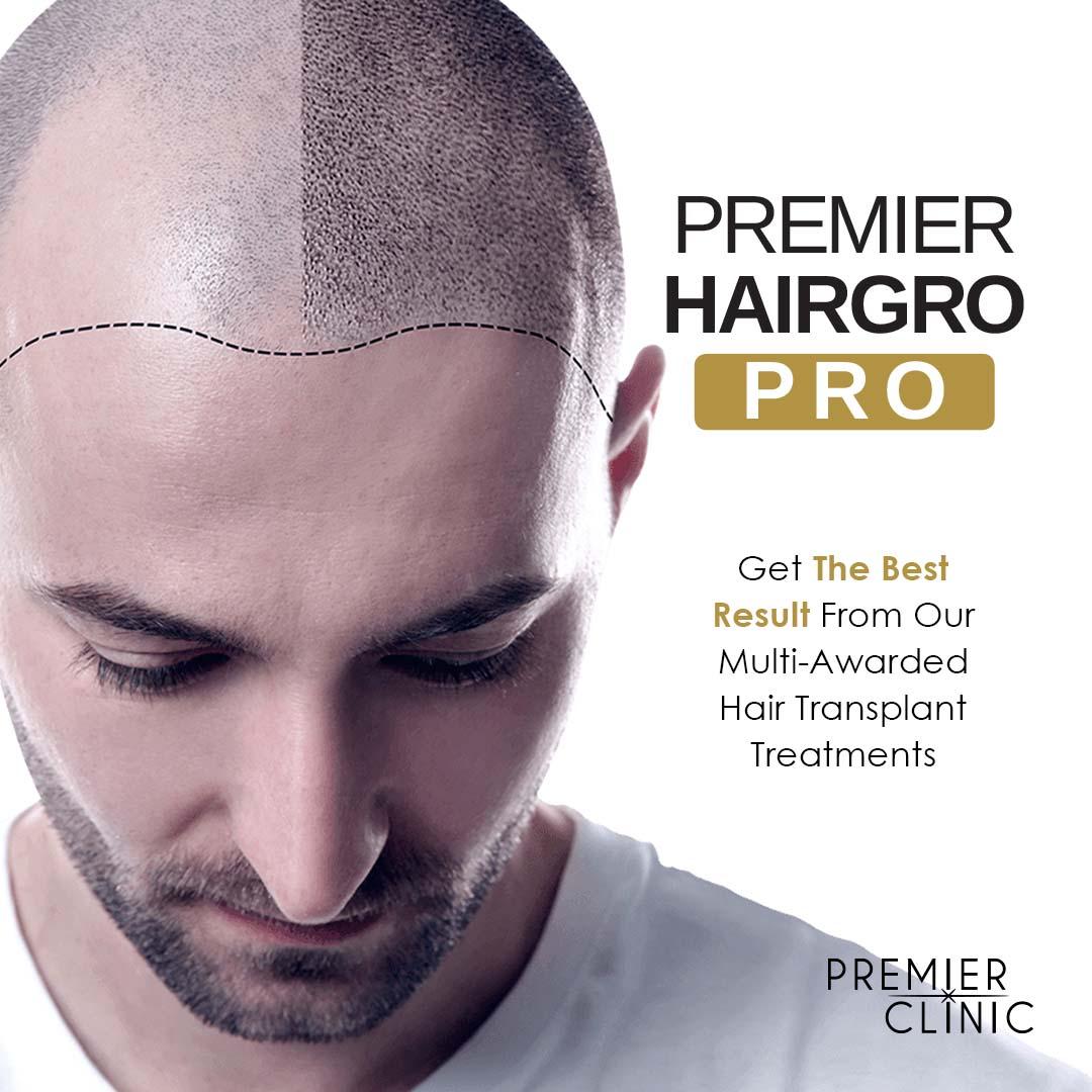 REGAIN YOUR CONFIDENCE WITH PREMIER HAIRGRO PRO
