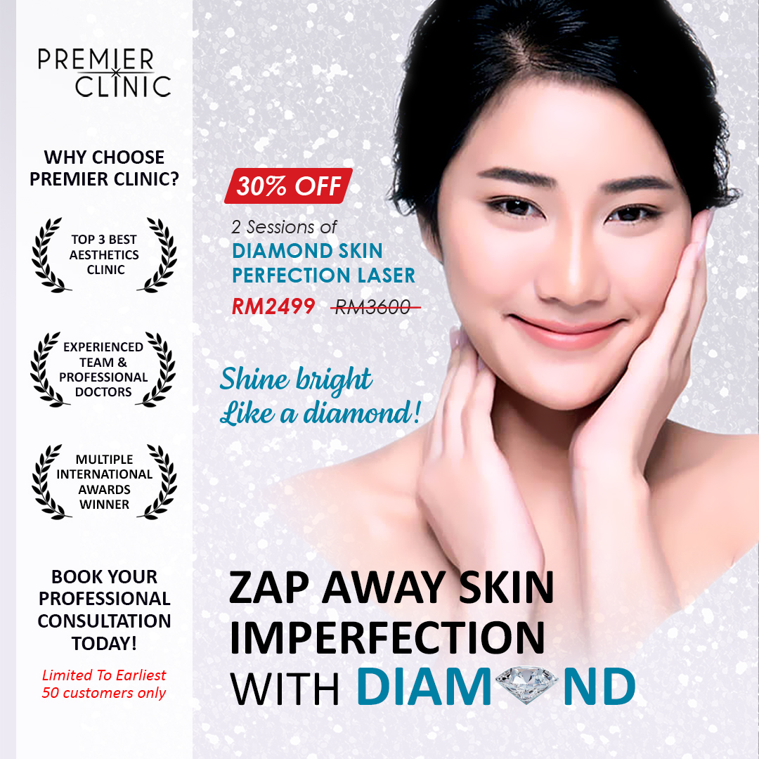 Zap Away Skin Imperfections With Premier Diamond Skin Perfection Laser