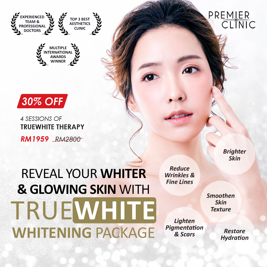 Reveal Your Natural Fair Skin With Multivitamin Truewhite Therapy