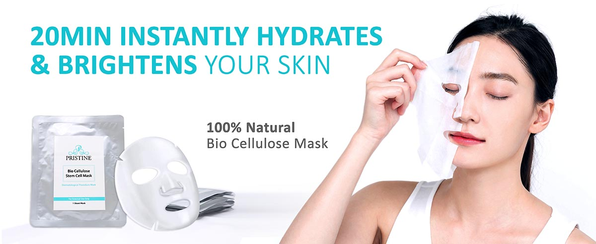 Pristine Bio-Cellulose Stem Cell Mask