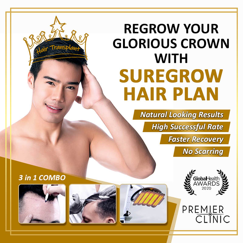 REGROW YOUR HAIR WITH SUREGROW HAIR PLAN