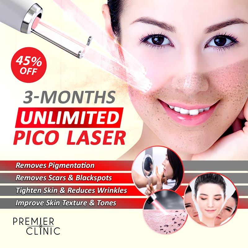 3 Months Unlimited Pico Laser