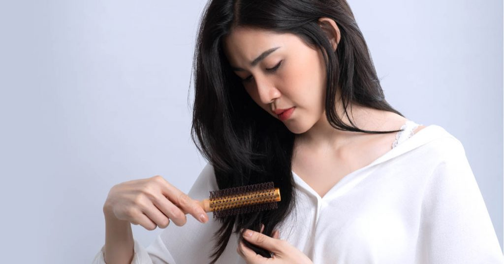 WHAT IS THE CAUSE OF HAIR LOSS?